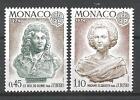 Monaco 1974 Yvert n° 957 et 958 neuf ** 1er choix