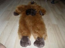 Size 2-4 Chrisha Playful Plush Brown Gorilla Monkey Deluxe Halloween Costume EUC
