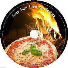 Pizza Oven Plans 100's Recipes cd Books Cookbooks Build Make Italian Pie Quick