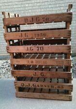 4X Fattoria in Legno Rustico Vassoio Apple Crate PATATA PATATE ingiustificata modestia BOX VINTAGE