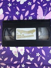 Extremely Rare. Vintage Skateboarding Vhs. This Is Skateboarding. Emerica