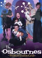 The Osbournes Television Series Ozzy Ozbourne 2002 Inkworks Promo Card P1