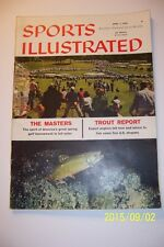 1958 Sports Illustrated THE MASTERS Ben HOGAN No Label AUGUSTA NATIONAL News-St