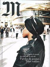 M LE MAGAZINE DU MONDE N°244 21 MAI 2016 JEUNES FILLES VOILEES/ GOMORRA/ MIOSSEC