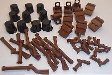 Lego 10 each x Shako Hats, Backpacks, Fintlock Muskets & Pistols