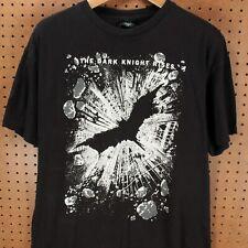 The Dark Knight Rises t-shirt XL black batman 2012 film bane marvel dc comics
