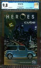 HEROES #NN CGC 9.8 GOLD FOIL LOGO SNA DIEGO COMIC CON 2009 DC