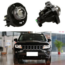 for Jeep Compass 2011-2015 Auto Front Fog Light Lamps Housing (No Bulbs) 2PCS