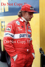 Niki Lauda Brabham F1 Portrait British Grand Prix 1978 Photograph