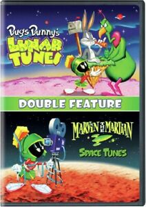 Bugs Bunny's Lunar Tunes + Marvin the Martian Space Tunes Bunnys New DVD