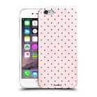 Custodia Cover Design Pois Pink Per Apple iPhone 4 4s 5 5s 5c 6 6s 7 Plus SE