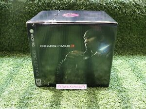 Gears of War 3 - Epic Edition - XBOX 360 - COMPLETE w/ Game - Free Shipping!