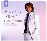 """ROLAND KAISER """"HITS & RARITÄTEN"""" NEU 3 CD SCHLAGER"""