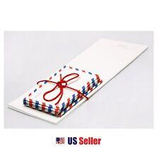 Cute Secret Mini Letter Pad Set : 10 Letter Paper with 5 Mini Envelopes