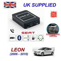 For Seat Leon Music Streaming Bluetooth Telephone Charger SD AUX CD Module 12pin