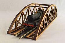OO Gauge Single Track Bowstring Bridge 400mm – Model Railway MDF Scenery