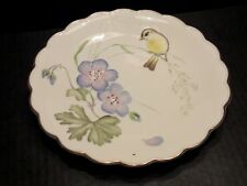 ROYAL WORCESTER THE BIRDS OF DOROTHY DOUGHTY PLATE WILLOW WARBLERS & CRANES BILL
