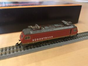 Märklin 88471 E-Lok Re 4/4SOB Südostbahn Spur Z digital DCC mit Decoder