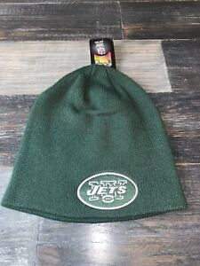 Men's NFL Football Brand Green New York Jets Winter Beanie Hat NWT