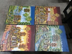 Haitian paintings on canvas By Rony Haitian