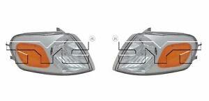 For 1997-2005 Chevrolet Venture Parking/Signal/Side Marker Light PAIR LH+RH