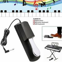 Universal Piano-style Sustain Pedal For Yamaha Casio Electronic Keyboard US