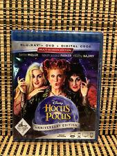 Hocus Pocus (2-Disc Blu-ray/DVD, 2018)Disney Movie Club Exclusive Edition