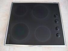 Blanco CMRS 410 GSS B, Knob Control, 60cm Electric Ceramic Cooktop