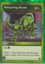 1 x Bakugan Battle Brawlers Recycling Boost Action Card - ENG 126 RA BB  New