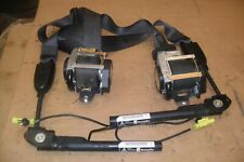VAUXHALL ASTRA J PAIR FRONT SEAT BELTS WITH PRETENSIONERS BUCKLES