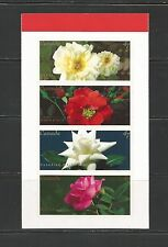 Roses Booklet Pane Of 4 #1914a