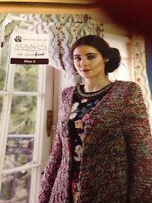 6 X Patterns Within Manos Silk Blend 4ply Knitting  Ladies Pattern Book 2