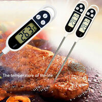 Digital Food Thermometer BBQ Cooking Meat Hot Water Measure Probe Kitchen Modern