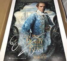 Dan Stevens Beauty And The Beast Hand Signed 11x14 Autographed Photo COA