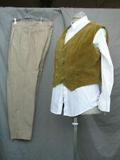 Victorian Edwardian Costume Men's Colonial Civil War Reenactment Style M-L