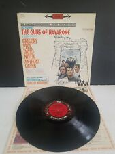 """THE GUNS OF NAVARONE"""" SOUND TRACK LP GREGORY PECK, ANTHONY QUINN, V.G. CONDITION"""