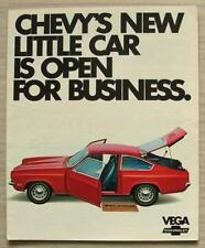 CHEVROLET VEGA USA Car Sales Brochure 1971 #1102  COUPE Sedan WAGON Truck