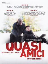 QUASI AMICI - INTOUCHABLES CON OMAR SY, FRANCOIS CLUZET (DVD) NUOVO, ITALIANO