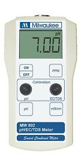 Milwaukee Instruments MW802 Portable pH / Conductivity / TDS Combination meter