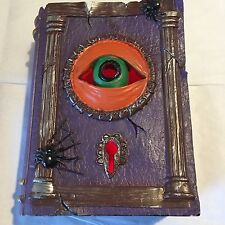 Flora Bunda Halloween Spooky Seasonal Display Piece Shaped As A Book