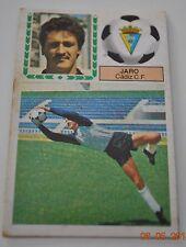 Cromo Liga 83-84. Jaro. Cadiz C.F. Ediciones Este. Despegado