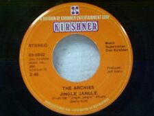 "ARCHIES ""JINGLE JANGLE / JUSTINE"" 45"