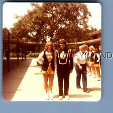 Found Color Photo M+4922 Teen Boy And Girl In Band Uniforms