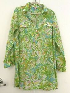 LILLY PULITZER Swim Cover Up Shirt XL