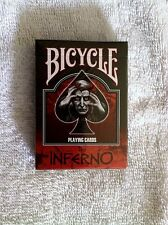 "One Deck Bicycle ""The Inferno"" Playing Cards - Gustove Dore- Halloween!"