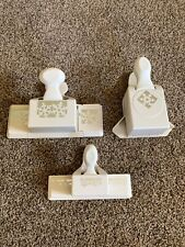 Lot Of 3 Martha Stewart Paper Punch Crafting  SNOWFLAKE Edge