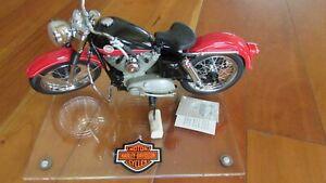 """Harley Davidson 1957 Sportster Franklin Mint Precision Models 1:10 race model 8"""""""