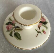 "Vintage Wedgewood ""Hathaway Rose"" Candlestick Made in England"