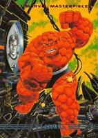 THING / 1993 Marvel Masterpieces BASE Trading Card #14