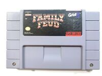 Family Feud - SNES Super Nintendo Game - Tested - Working